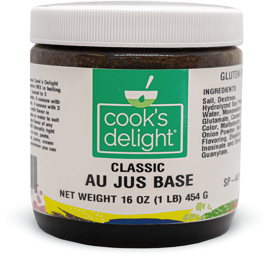 Au Jus base mix by Cook's Delight