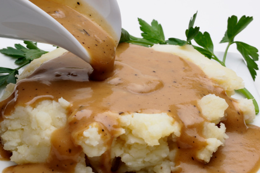 Gravy using Cook's Delight® Soup Bases and Flavor Concentrates
