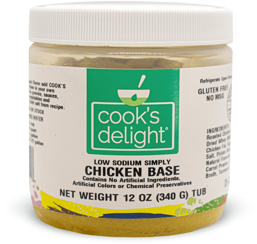 Clean label Soup base stock for Chicken flavor Cook's Delight Cook's Delight