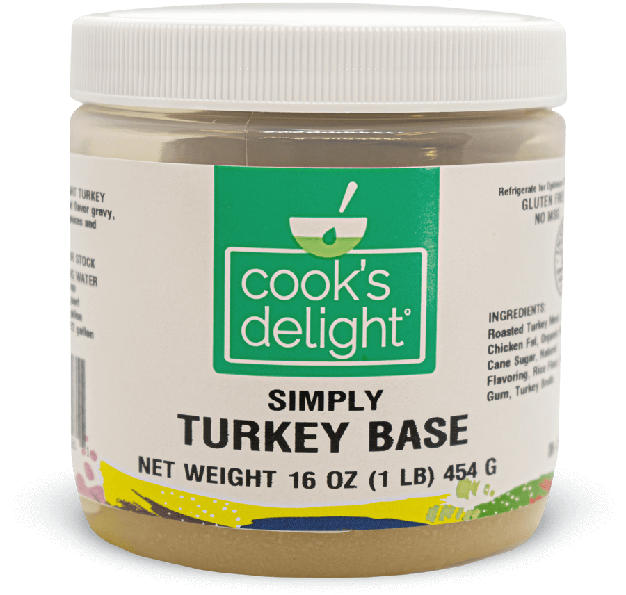 Clean label Soup base stock for Turkey flavor Cook's Delight
